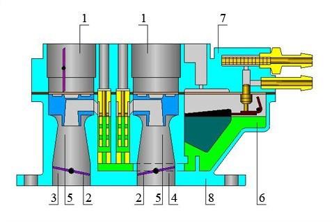 Схема карбюратора Солекс