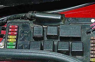 Блок предохранителей и реле в автомобиле ВАЗ 2115