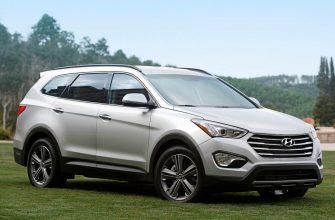 Новый семейный внедорожник Hyundai Grand Santa Fe 2014 года