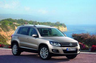 Обзор Volkswagen Tiguan с большим клиренсом