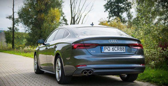 тестируемая Audi очень хорошо ездит