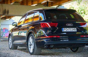 Audi Q7 Quattro. Внедорожник из Ингольштадта