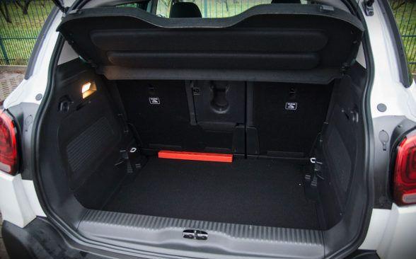 В багажнике Citroen предлагает пользователям начальные 410 литров