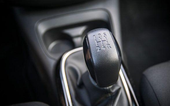 К двигателю подключена пятиступенчатая коробка передач