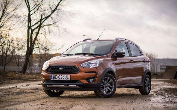 Версия Active поднимает подвеску тестируемого Ford на 3 сантиметра