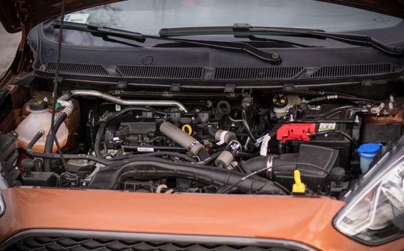 бензиновый трехцилиндровый атмосферный двигатель 1.2 Ti-VC