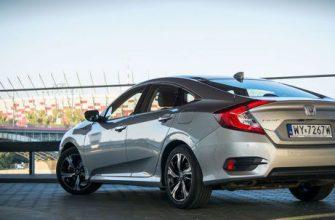 Обзор Honda Civic X 4D 1.5 VTEC Turbo
