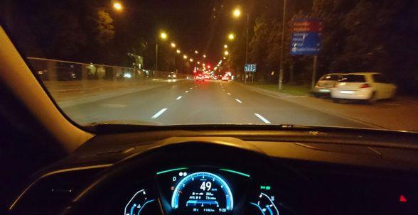 За рулем Honda Civic