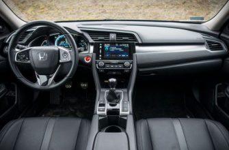 Обзор Honda Civic 1,5 VTEC Turbo 182 л.с.