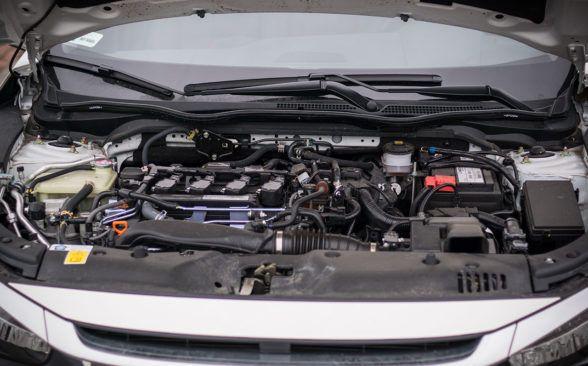в сочетании с двигателем 1.5 VTEC Turbo