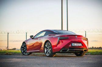 Обзор Lexus LC 500 5.0 V8 477 л.с. SuperTurismo