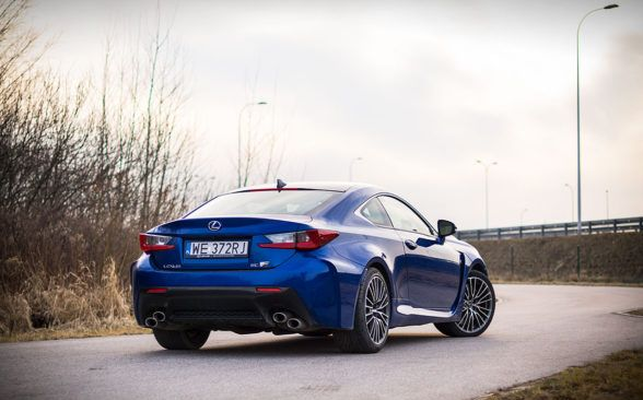 Обзор Lexus RC F Carbon 5.0 V8