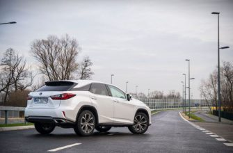 Обзор Lexus RX 200t Elegance