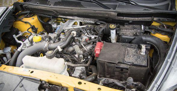 спортивный характер шасси Nissan Juke