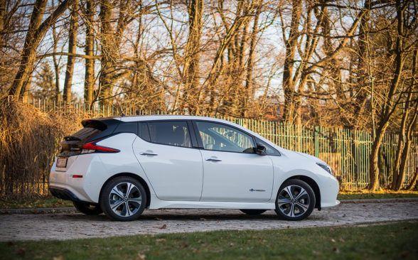 Обзор Nissan Leaf 40 кВт\ч Текна