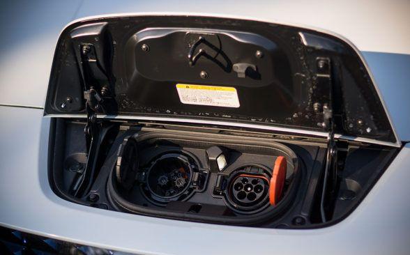 Батарея в тестируемом Nissan имеет емкость 40 кВтч