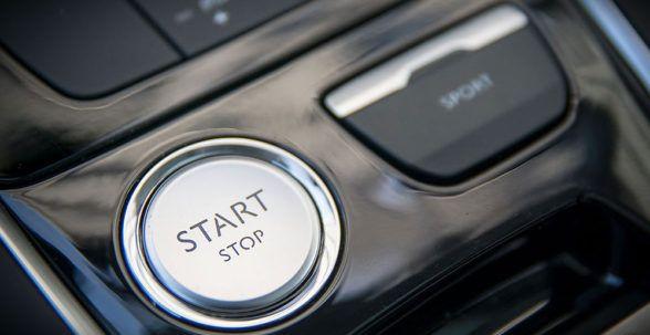 в тестируемом Peugeot 308
