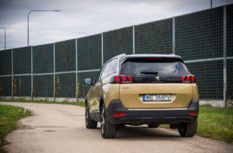 Обзор Peugeot 5008 Allure 1.6 THP 165 л.с.