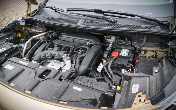 тестируемый агрегат оснащен самым мощным бензиновым 1.6