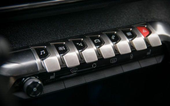 Интерьер Peugeot 5008