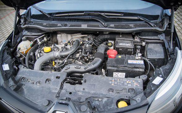 Под капотом тестируемого автомобиля работал бензиновый двигатель