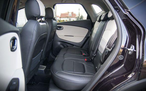 заднее сиденье Renault Captur