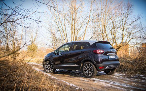 Renault Captur - автомобиль, который не стремится быть спортсменом