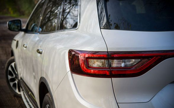 новый Renault Koleos производит очень хорошее впечатление