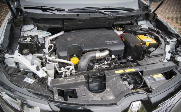 под капотом дизельный двигатель 2.0 dCi мощностью 177 лошадиных сил