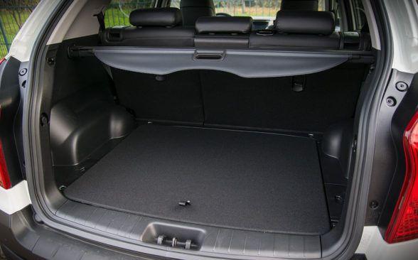 В багажнике у нас есть разумная емкость в 500 литров