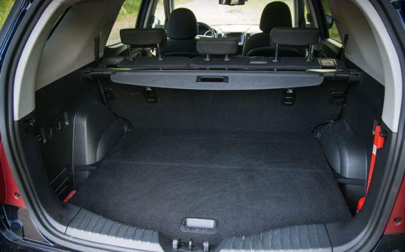 Объем багажного отделения XLV составляет 720 литров