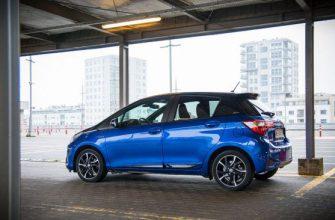 Обзор Toyota Yaris Hybrid Selection