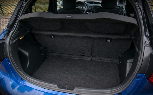 286 литров объема багажника