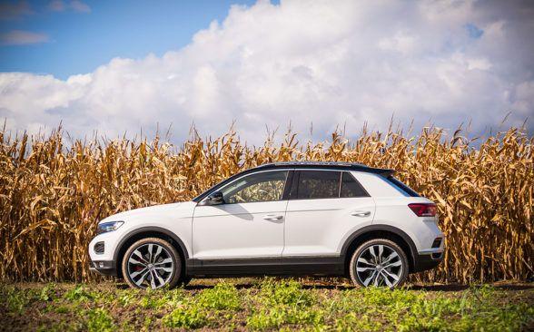 протестированный Volkswagen сложно рассматривать как породистый внедорожник