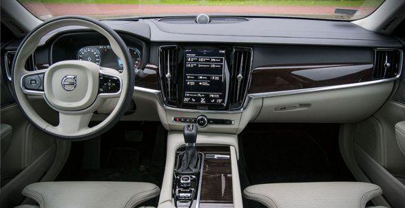 Премиум в интерьере S90
