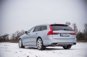 Обзор Volvo V90 R-Design D5 AWD Geartronic.