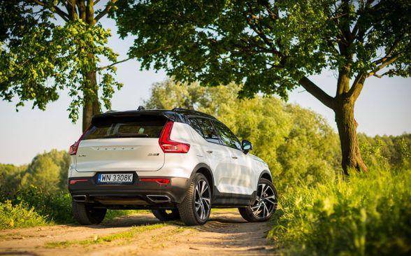 Volvo XC40 имеет дорожный просвет 21,1 см